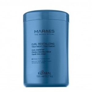 MARAES Curl Revitalizing Treatment. Восстанавливающий кондиционер для вьющихся волос 1000 мл