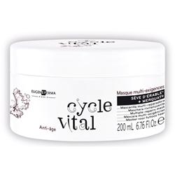 Маска мультивосстанавливающая против возрастных изменений волос Eugene Perma Cycle Vital Masque Multi-Exigences
