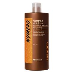 Brelil  Шампунь для красоты волос с макассаровым маслом и кератином 1000ml