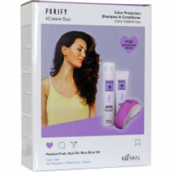 Purify-Colore  набор ( шампунь + кондиционер + щетка для волос)