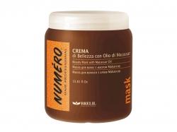 Brelil  Маска для красоты волос с макассаровым маслом и кератином 1000ml