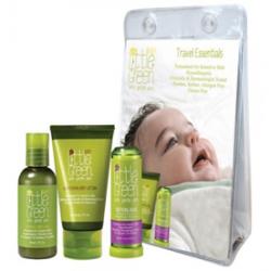 Набор «Первый уход малыша» для детей от 0 до 12 мес/Little Green. Baby. Baby Essentials Set/60 мл+60